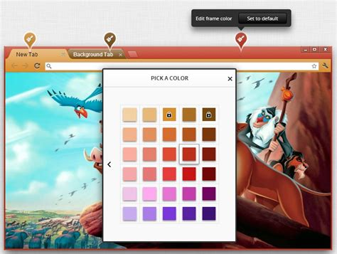 wesley designs chrome themes design your own customize google chrome theme and share it