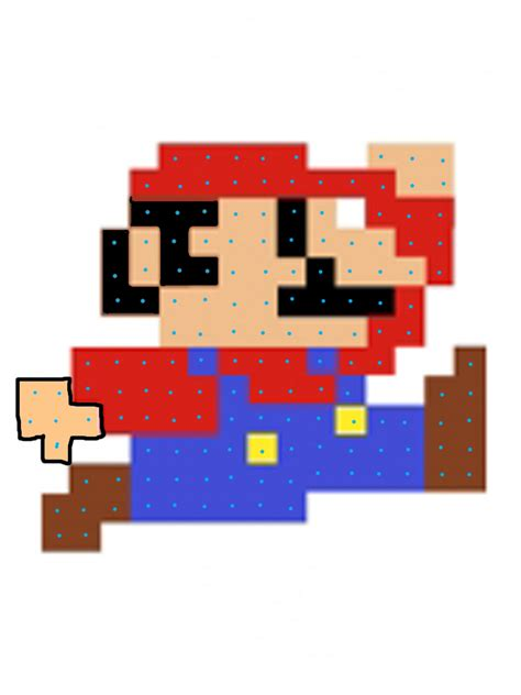 pixelated mario characters bethany sew and sew mario crocheted pillow tutorial