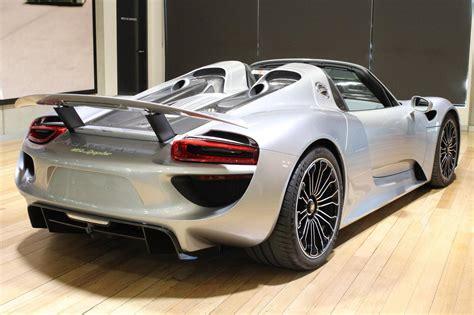 Silver Porsche 918 Spyder For Sale In Australia Gtspirit