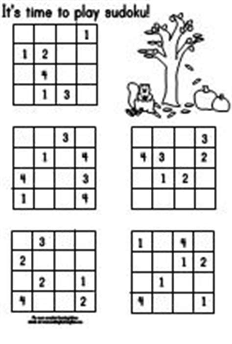 Making Learning Fun | Fall 4x4 Sudoku