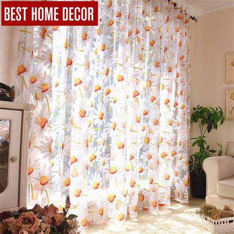best home decor drapes sheer window curtains for living