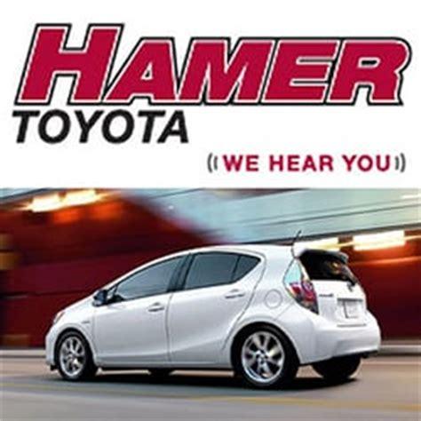 Toyota Hamer Hamer Toyota Mission Ca United States Hamer