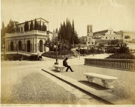 Wandlen Vintage Italian firenze 1870 piazzale michelangelo italy the way we