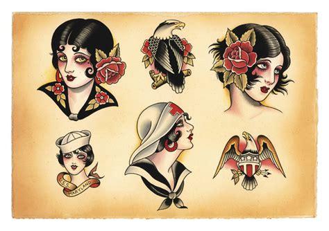 American Traditional Tattoos   Endless Tattoo Designs