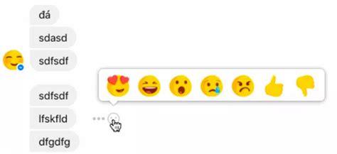 emoji untuk fb facebook ujicoba fitur reaction emoji untuk facebook messenger
