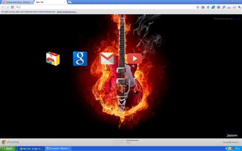 guitar theme for google chrome best google chrome themes 2012 cartridge monkey