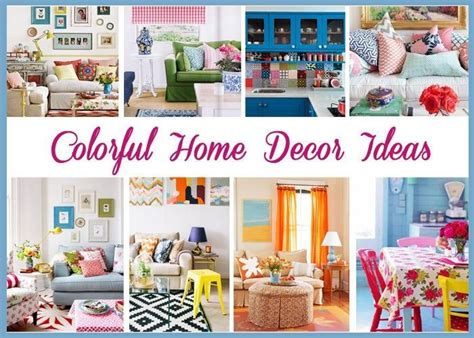 colorful home decor ideas just imagine daily dose of