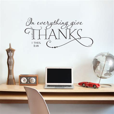 christian decorations for the home aliexpress com buy in everything give thanks christian