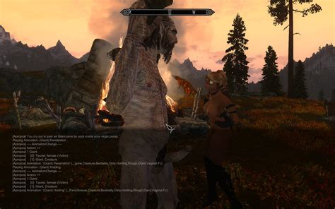loverslab skyrim sexlab animations giant s animations don t play technical support sexlab