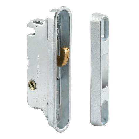 door lock keeper prime line sliding door mortise lock and keeper e 2487