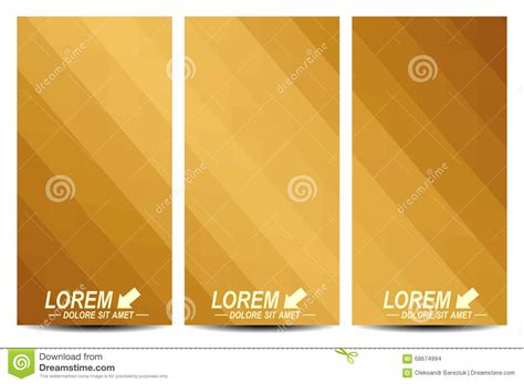 Golden Set golden set of vector flyers background with gold