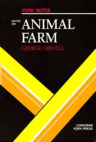 libro animal farm york notes george orwell quot animal farm quot notes york notes welch robert 0582780977 9780582780972 ebay