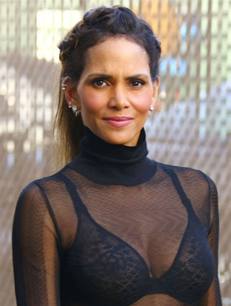 Halle Berry by Halle Berry Arriving Kimmel Live Celebzz Celebzz
