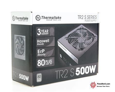 Power Supply Thermaltake Tr2 S 500w thermaltake tr2 s series 500w power supply review