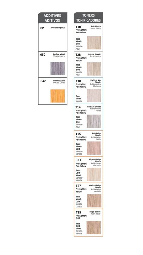 wella color charm color chart 1000 ideas about wella color charm toner on