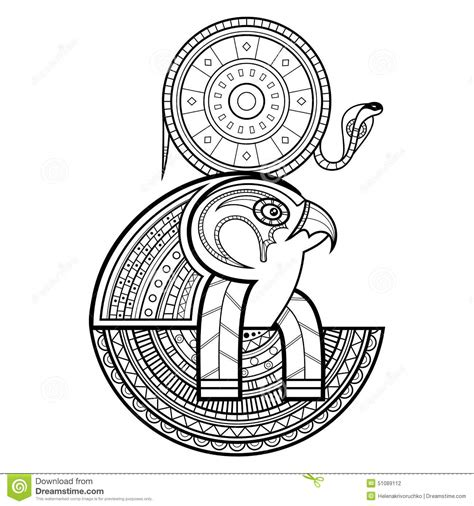 vector god of ancient egypt stock vector image 51089112
