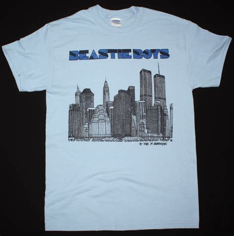 T Shirt Beastie Boys Wht3 beastie boys to the 5 boroughs mca mike d ad rock hip hop
