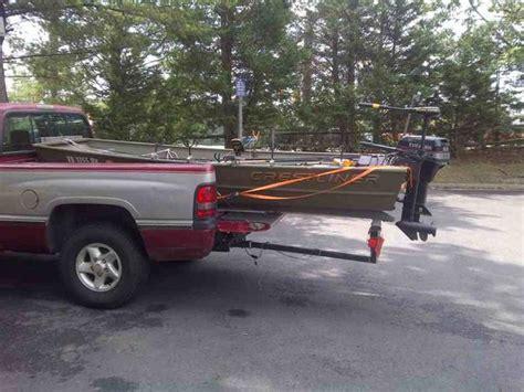 small boat trailer setup drive on boat trailer setup