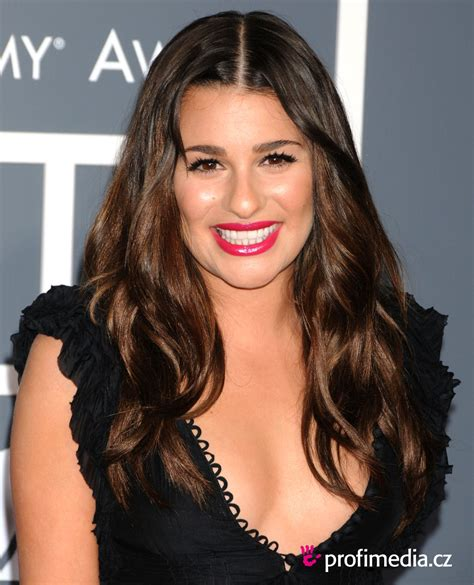 lea michele lea michele hairstyle easyhairstyler