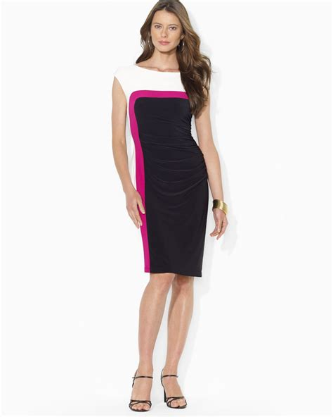 color block dresses ralph colorblock dress fashion dresses