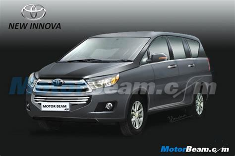 All New Innova List Bumper Depan Bawah Front Lower Bumper Trim Chrome next toyota innova renderings shown mid 2016 debut