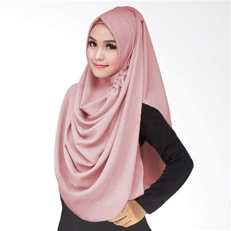 Kerudung Jilbab Instan Lcb jual milyarda lcb kerudung instant dusty pink