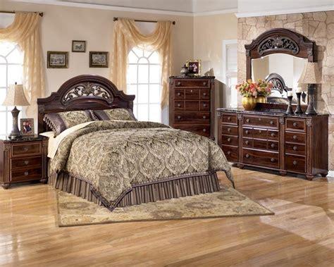 rent   ashley gabriela queen bedroom set appliance furniture rentall