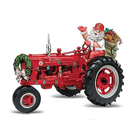 tractor christmas tree lights farmall tractor all the way figurine my favorite store