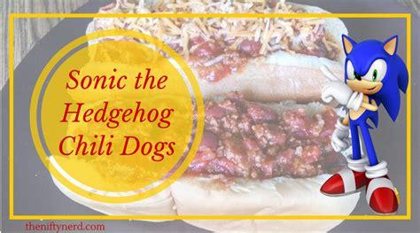 sonic chili sonic the hedgehog chili recipe chili recipe