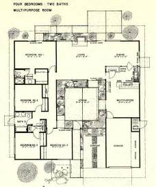 1000 images about eichler floor plans on
