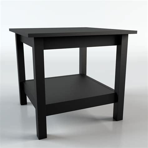 Ikea Hemnes Side Table Ikea Hemnes Table 3d C4d