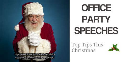office speeches office speaking