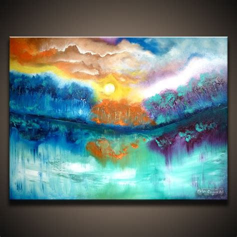 abstract acrylic painting ideas on canvas landscape painting ideas on easy acrylic