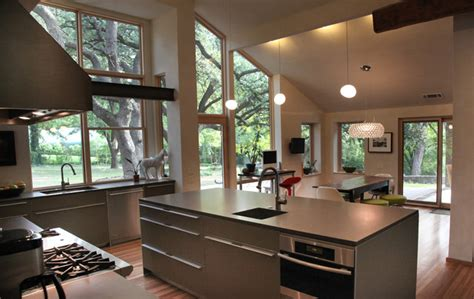 bauhaus custom homes custom home builder and design firm walnut hill residence bulthaup kitchen industrial