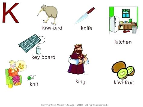 4 Letter Words Starting With L words that start with the letter k starts with k best for