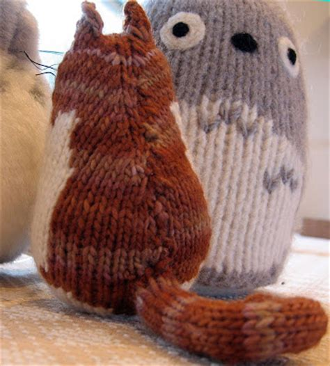 yarn kitty pattern acornbud s yarns brownie the cat a knitted cat pattern