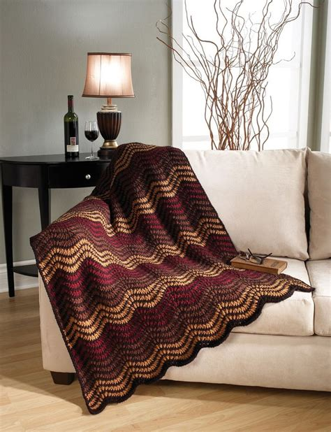 mary maxim free easy zigzag afghan knit pattern 3870 best best crochet patterns images on pinterest