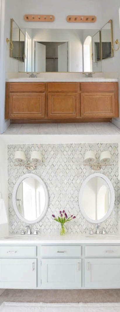 bathroom vanity makeover diy best 25 bathroom vanity makeover ideas on pinterest