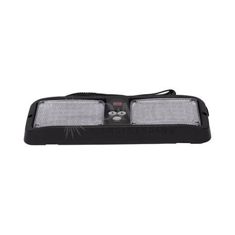 flip visor led dash light warning and emergency light