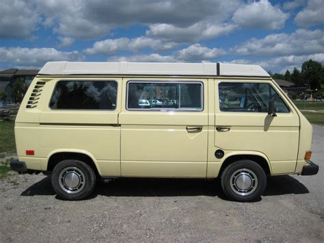 volkswagen westfalia 82 vanagon westfalia only 46k miles 73k km vw bus