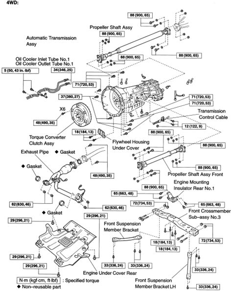 automotive service manuals 1997 toyota previa transmission control repair guides automatic transmission transmission removal installation autozone com