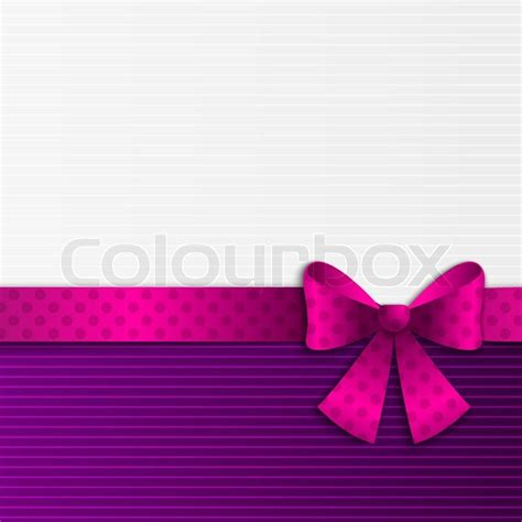 purple  white background  ribbon stock vector