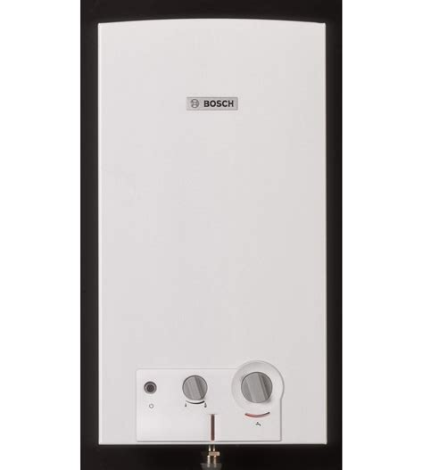 scaldabagno a gas a aperta scaldabagno a gas bosch therm 4200 a aperta 11 lt gpl
