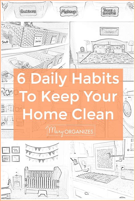 clean habits 6 daily habits to keep a clean home