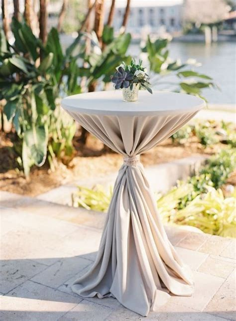 incredible ideas  decorate wedding cocktail tables
