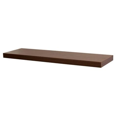 Floating Walnut Shelf by Buy Walnut Floating Shelf 80cm From Our Wall Shelving