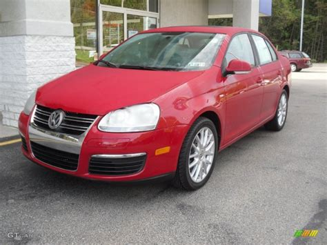 red volkswagen jetta 2009 salsa red 2009 volkswagen jetta wolfsburg edition sedan