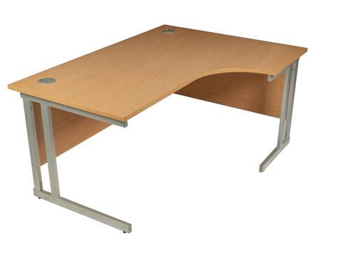 Ergonomic Office Desk Ergonomic Office Desk 1600mm With Cantilver Legs