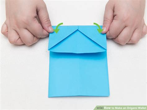 membuat origami dompet kertas how to make an origami wallet with pictures wikihow