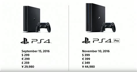 new ps4 console release date ps4 pro release date price revealed shacknews